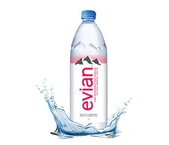 Evian Natural Mineral Water (PET) 500ml.x24bt