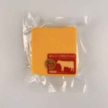 Wykefarm mild colored Cheddar