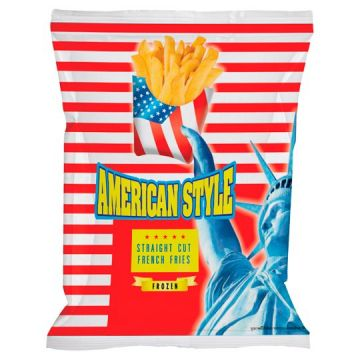 AMERICAN STYLE  FRENCH FRIES STRAIGHT CUT